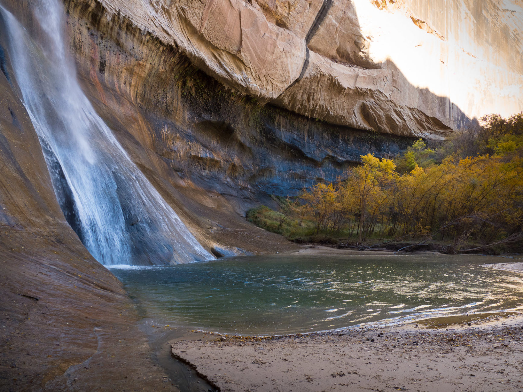 Calf Creek Wasserfall