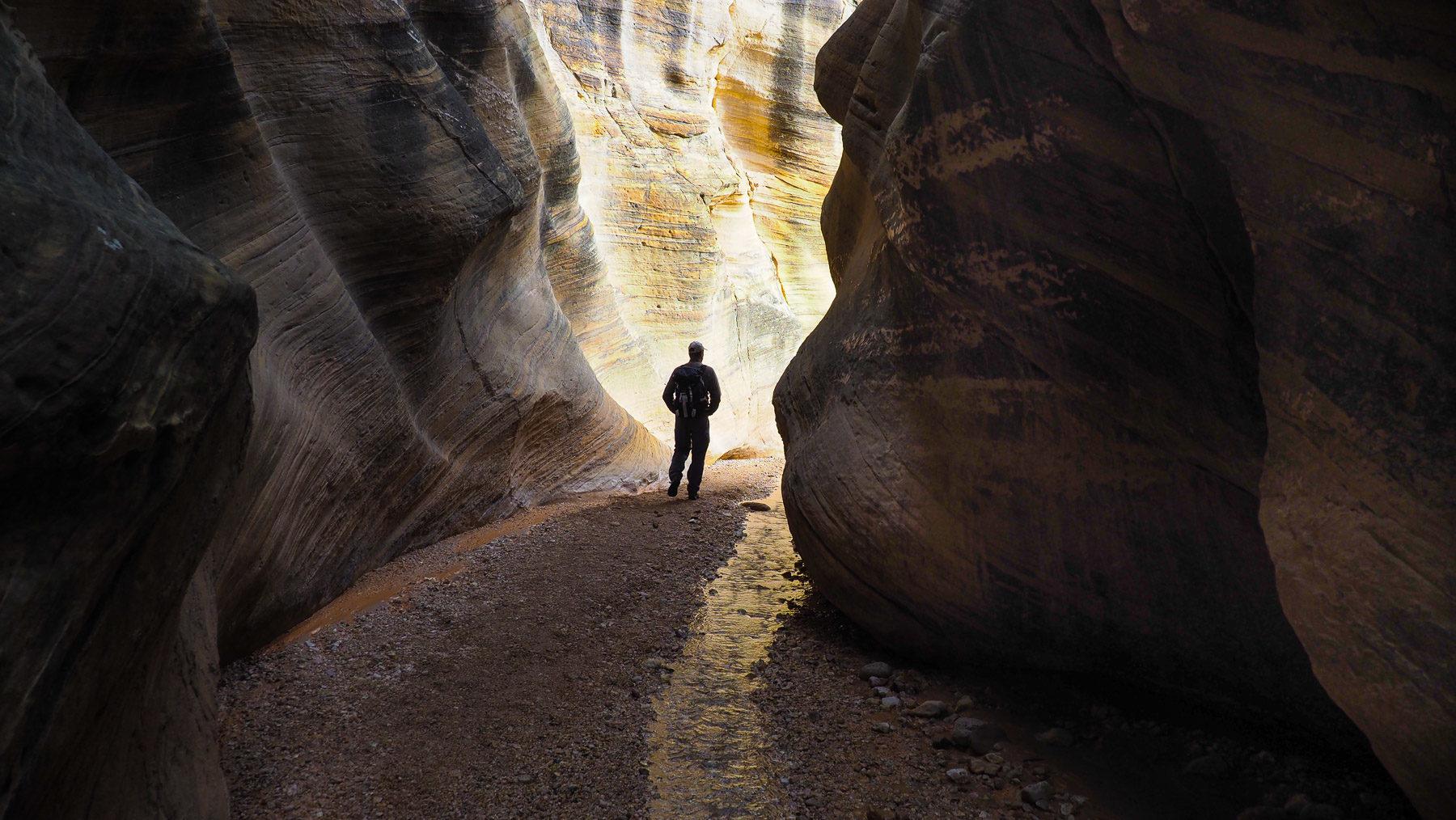 Willi's  Creek – einer der schönsten kleinen Canyons