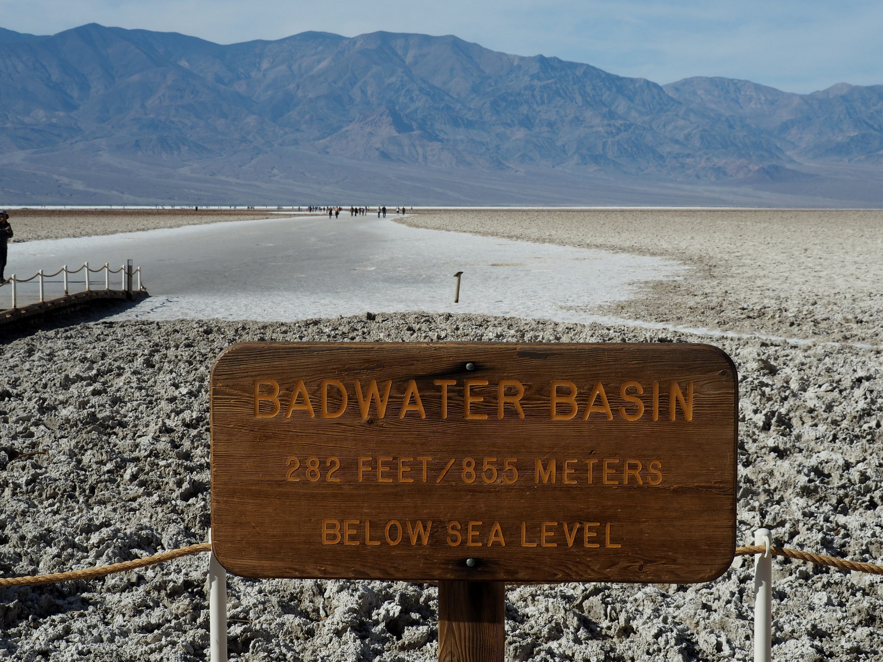 Tief, tiefer, Badwater !