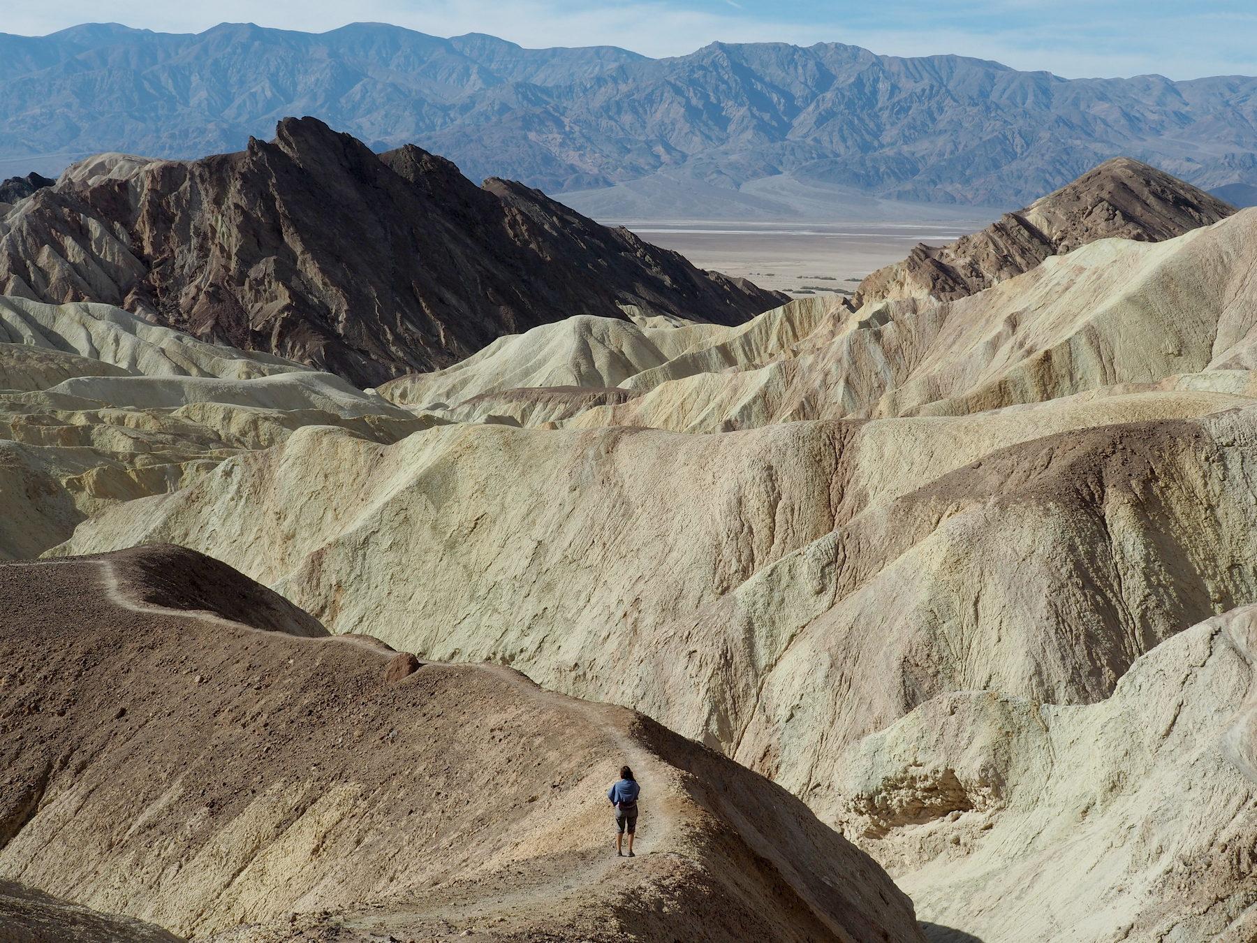 Wanderung im Golden Canyon