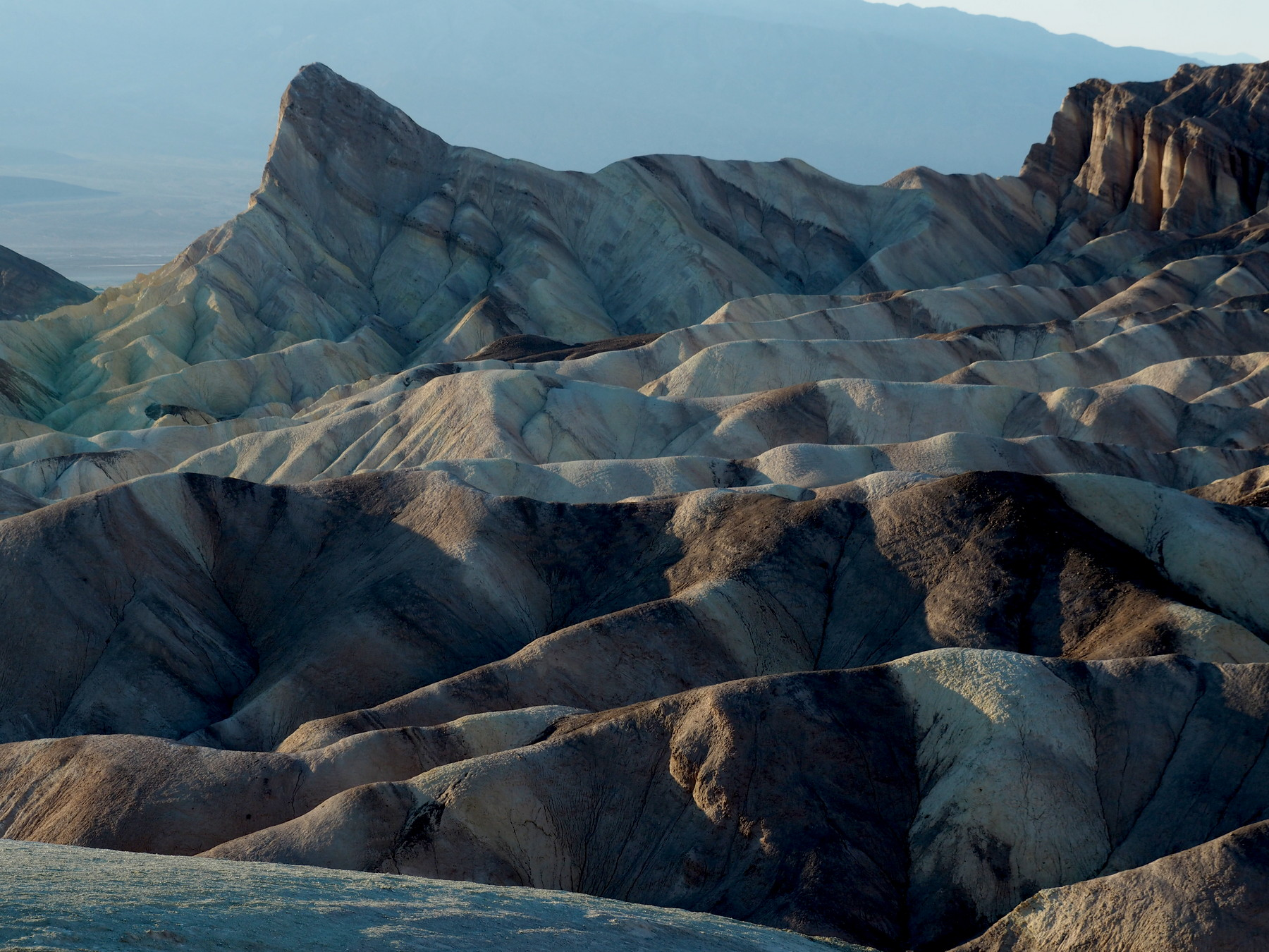 Ausblick am Zabriski Point
