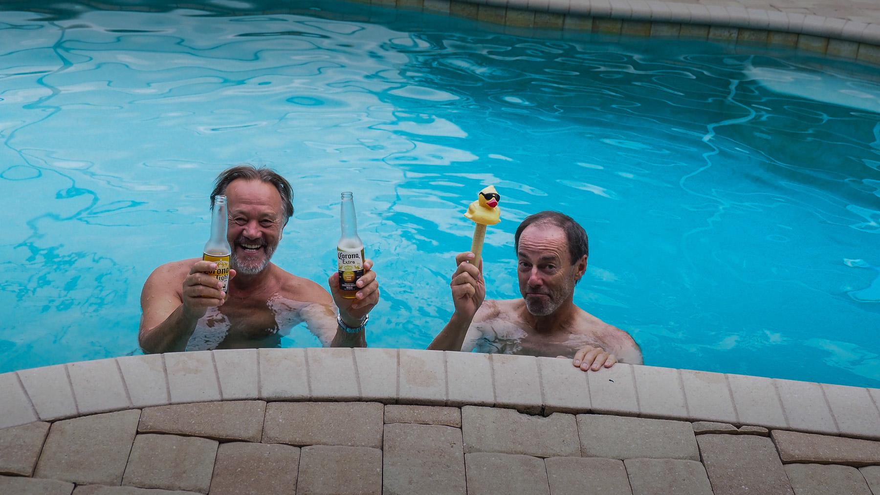 Zwei Bier und eine verlogene Ente
