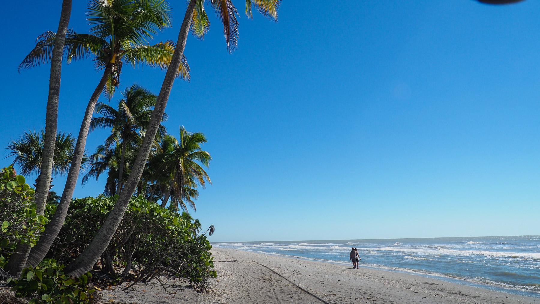 Traumstrand am Golf von Mexiko