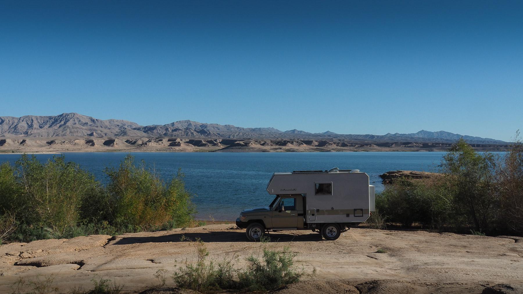 Schöner einsamer Platz direkt am Lake Mead