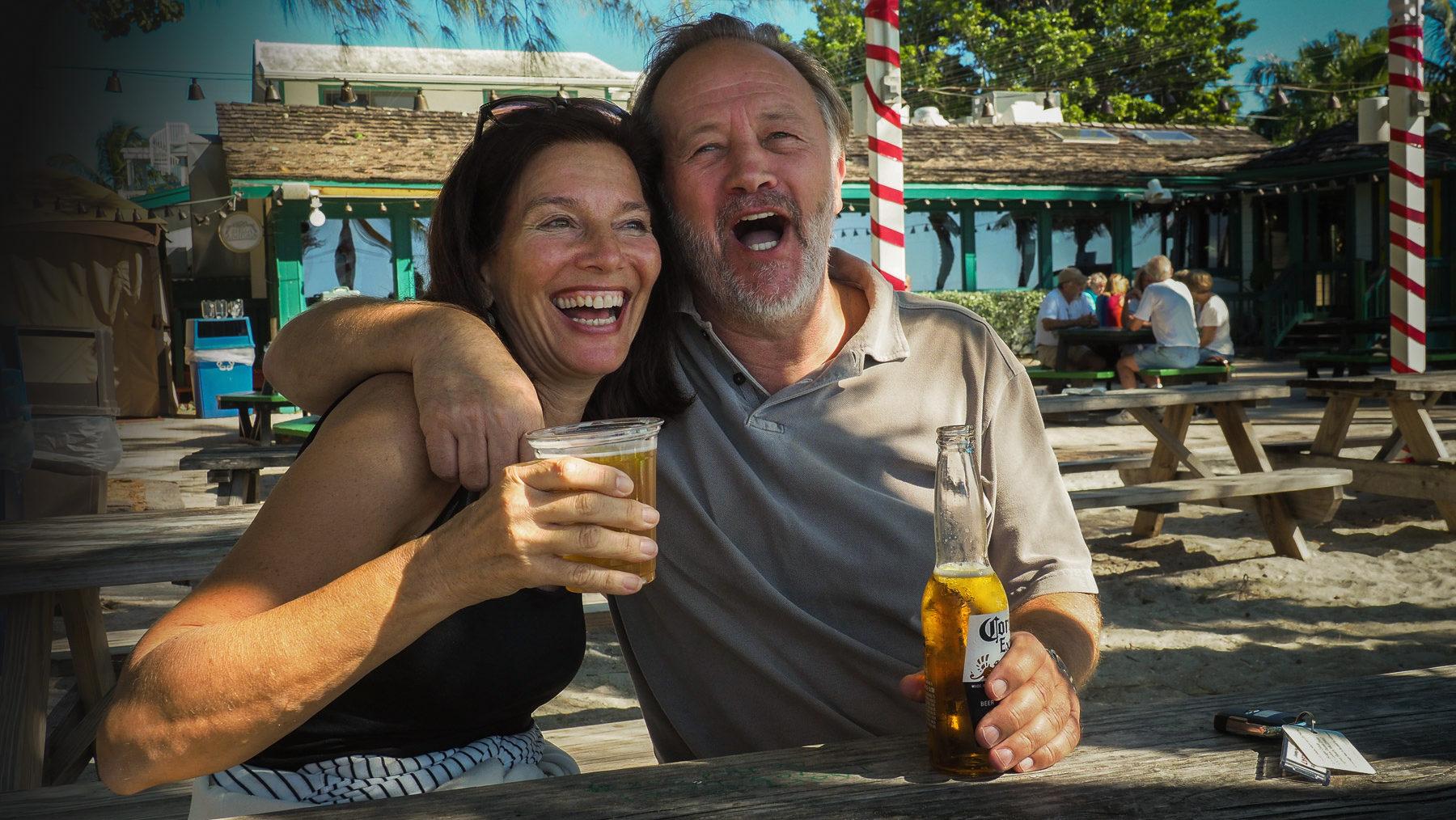 Viel Spaß mit Doris und Josef an einem wunderschönen Strand in Florida