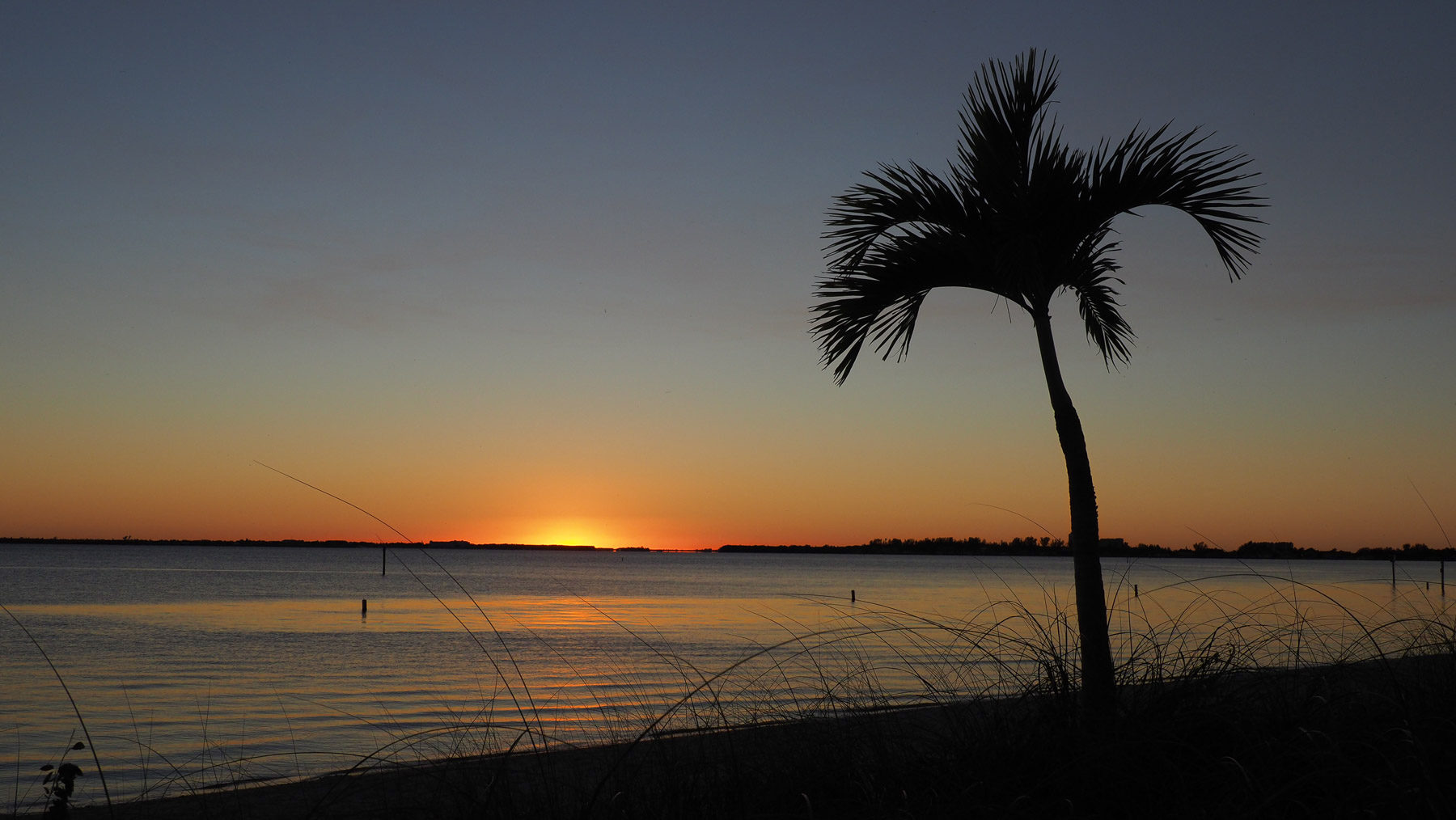Die Sonnenuntergänge in Florida sind schon was besonderes