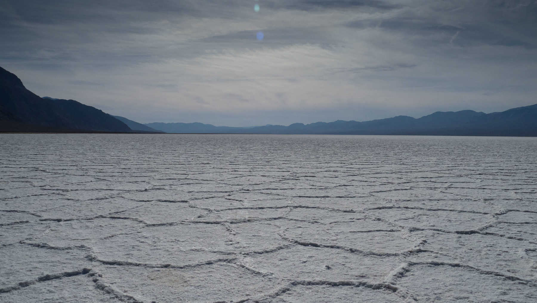 Bad Water Saltlake, tiefster Punkt im Death Valley
