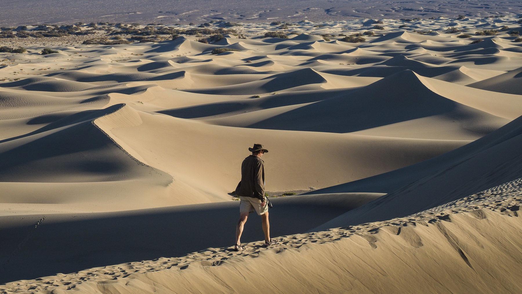 Wanderung durch die Sanddünen