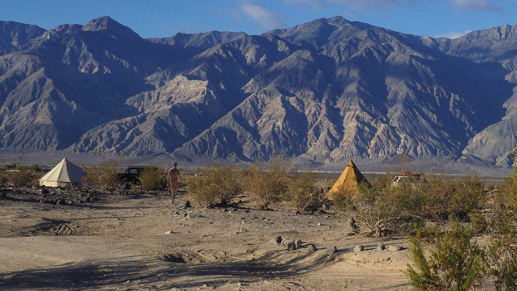 Seltsame Begegnungen in der Wüste, unsere Nachbaren bei den Warm Springs