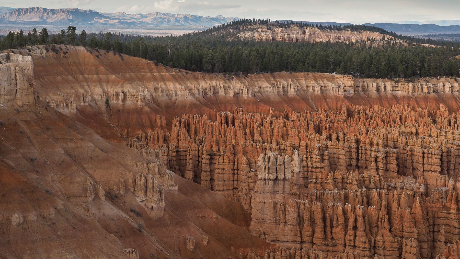 Bryce Canyon, faszinierende Sandsteintürmchen