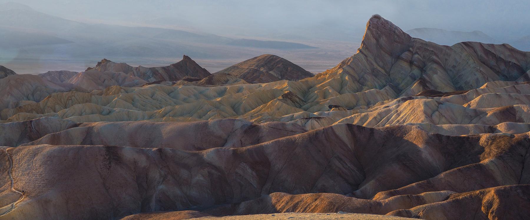 Abendstimmung im Death Valley