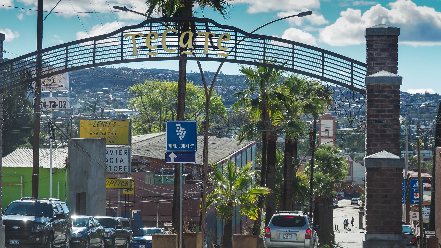 Tecate - unser Tor nach Mexiko