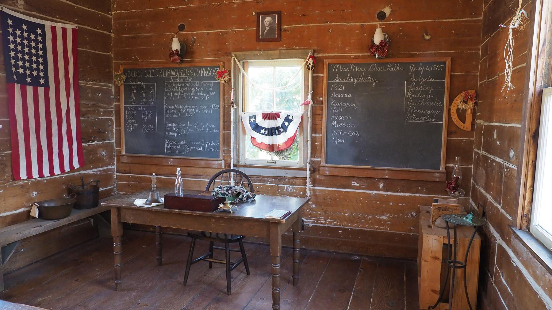 Schule in der Old Town