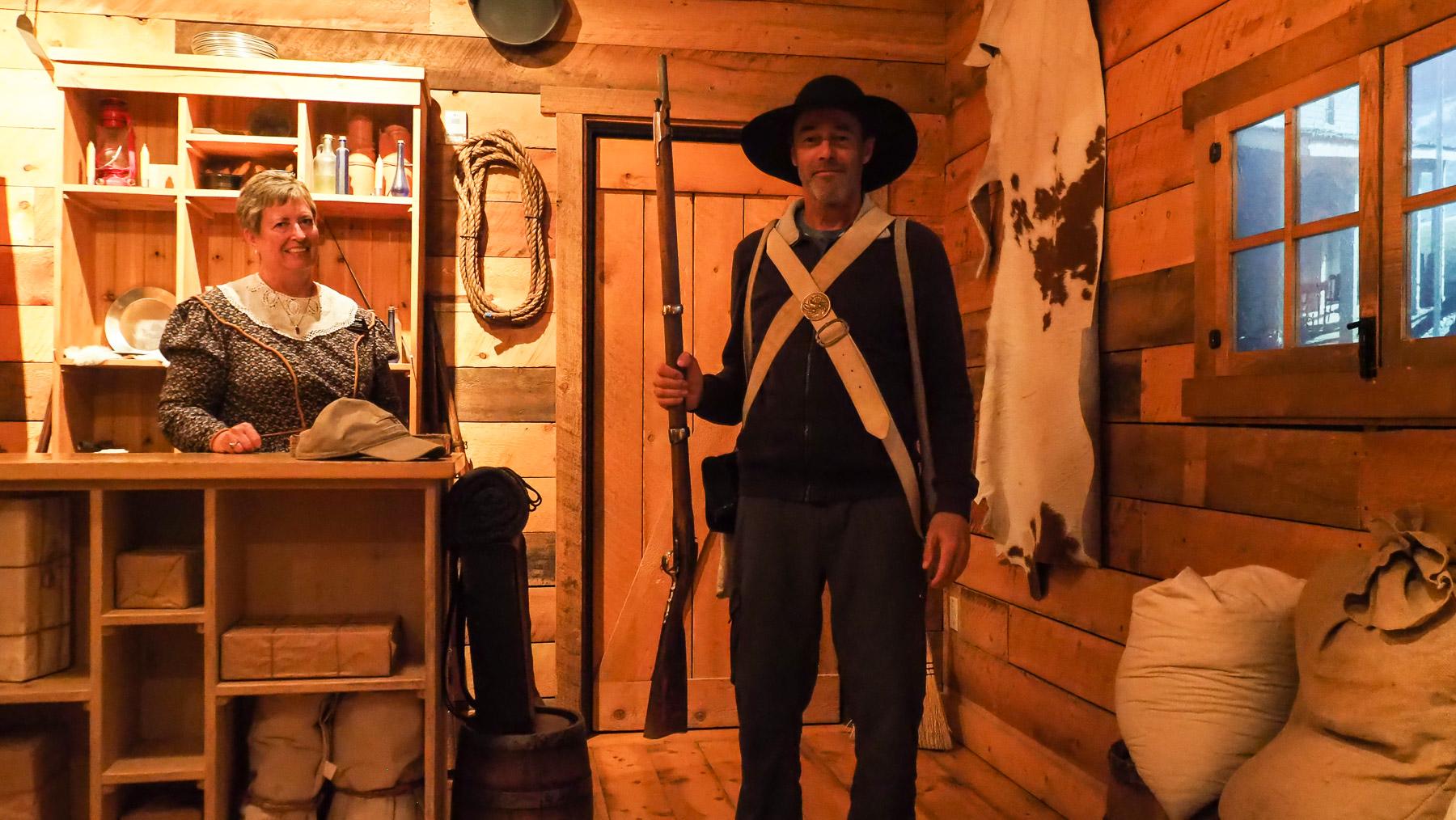Soldat Georg vom Mormonen-Batallion