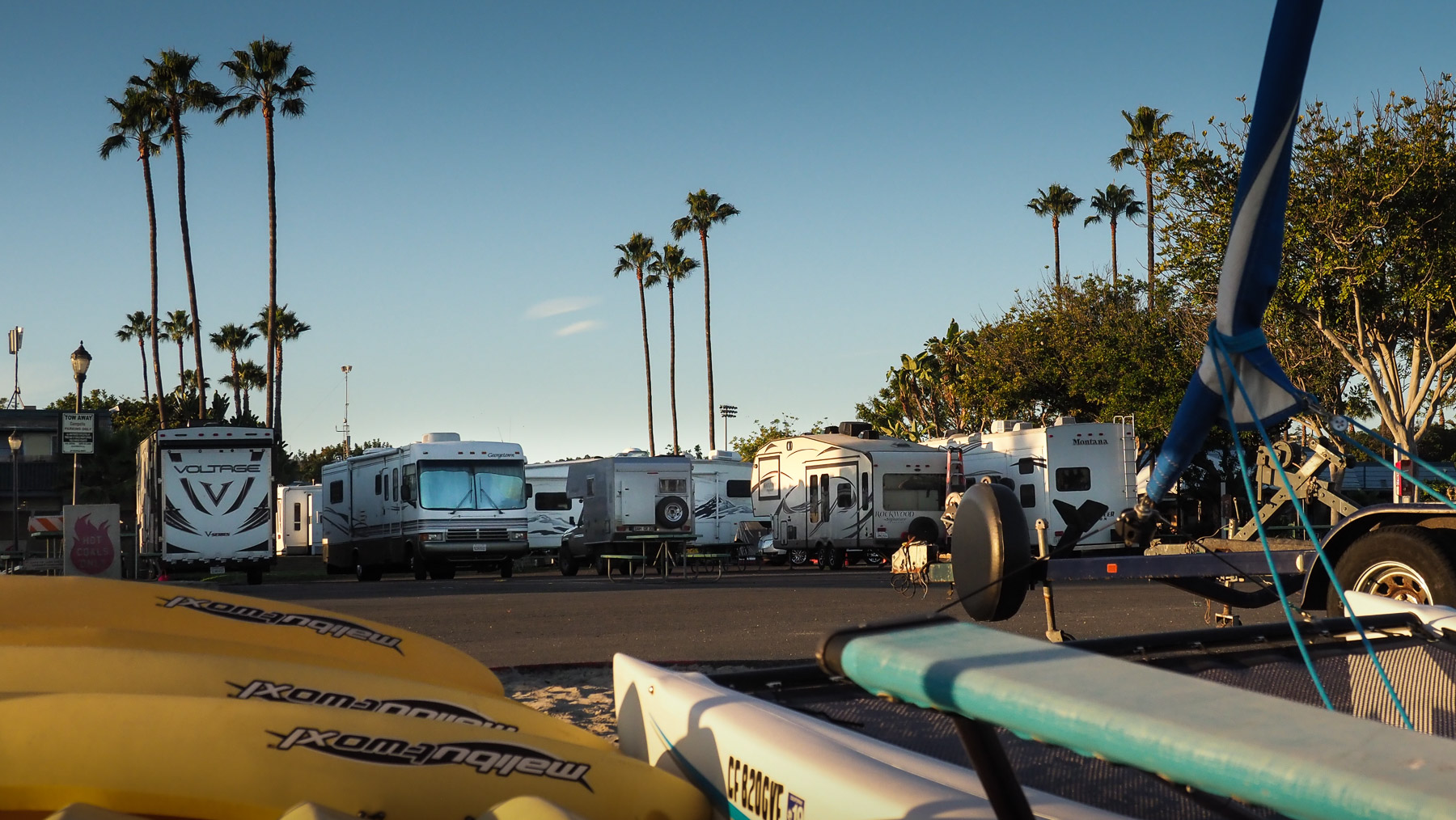 Campland Campground in San Diego