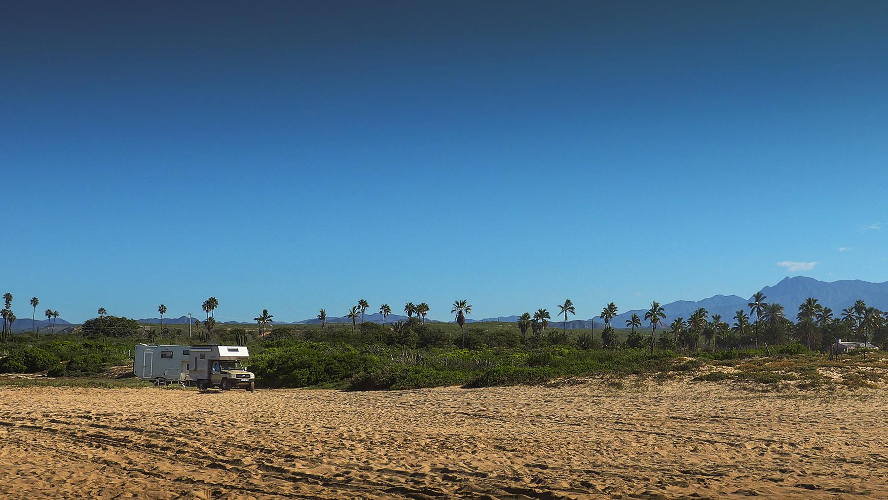 Unsere kleine Villa am Strand von Todo Santos