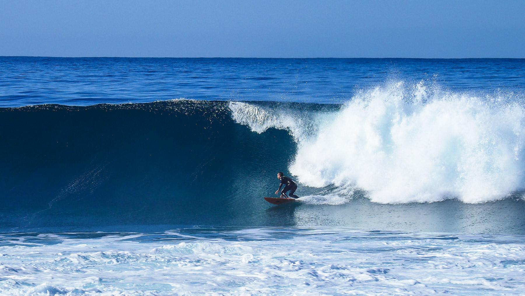 Sehr gute Surfer sind hier unterwegs