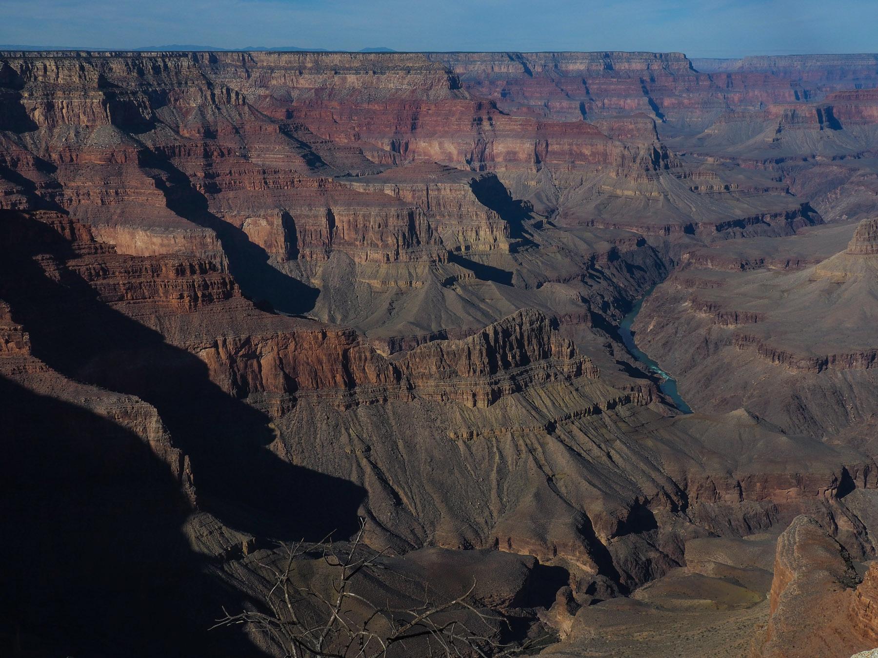 Grand Canyon  - 1800 m tief