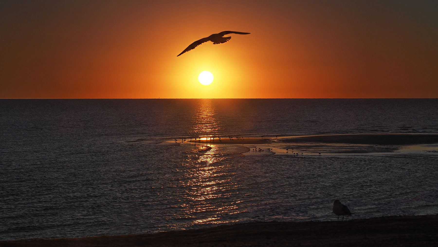 ...und weil's so schön ist: noch ein Sonnenaufgang