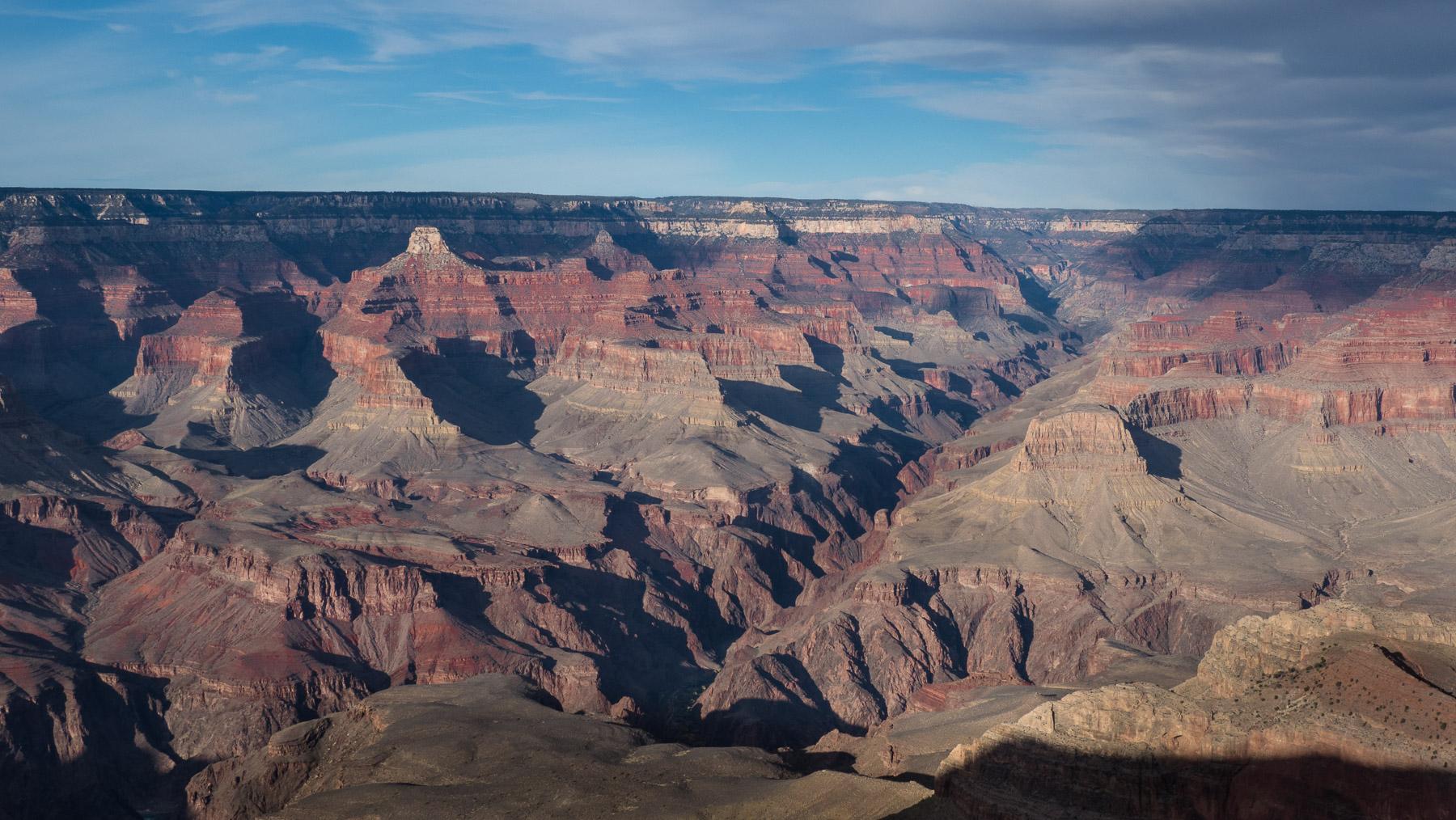 Grand Canyon - 446 km lang