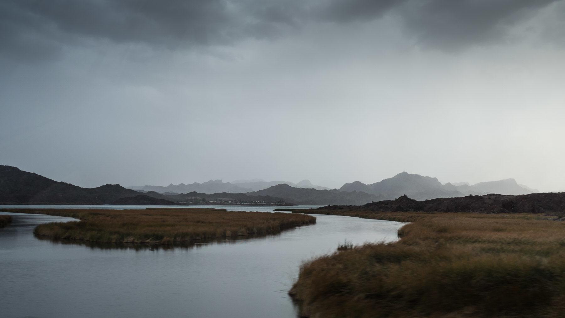 Schlechtes Wetter am südlichen Colorado