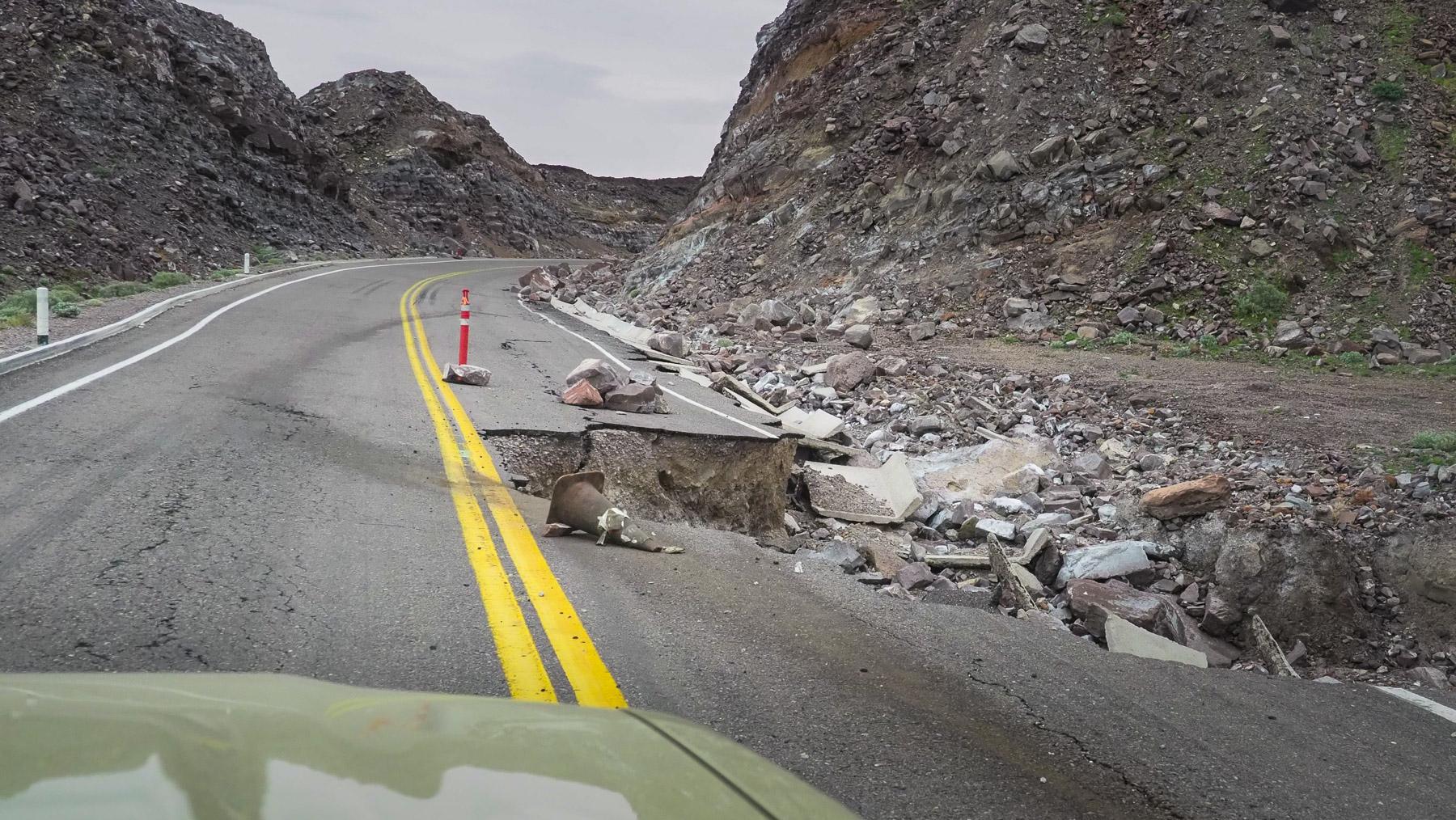 Die vom letzten Hurrikan verwüstete Mex 5