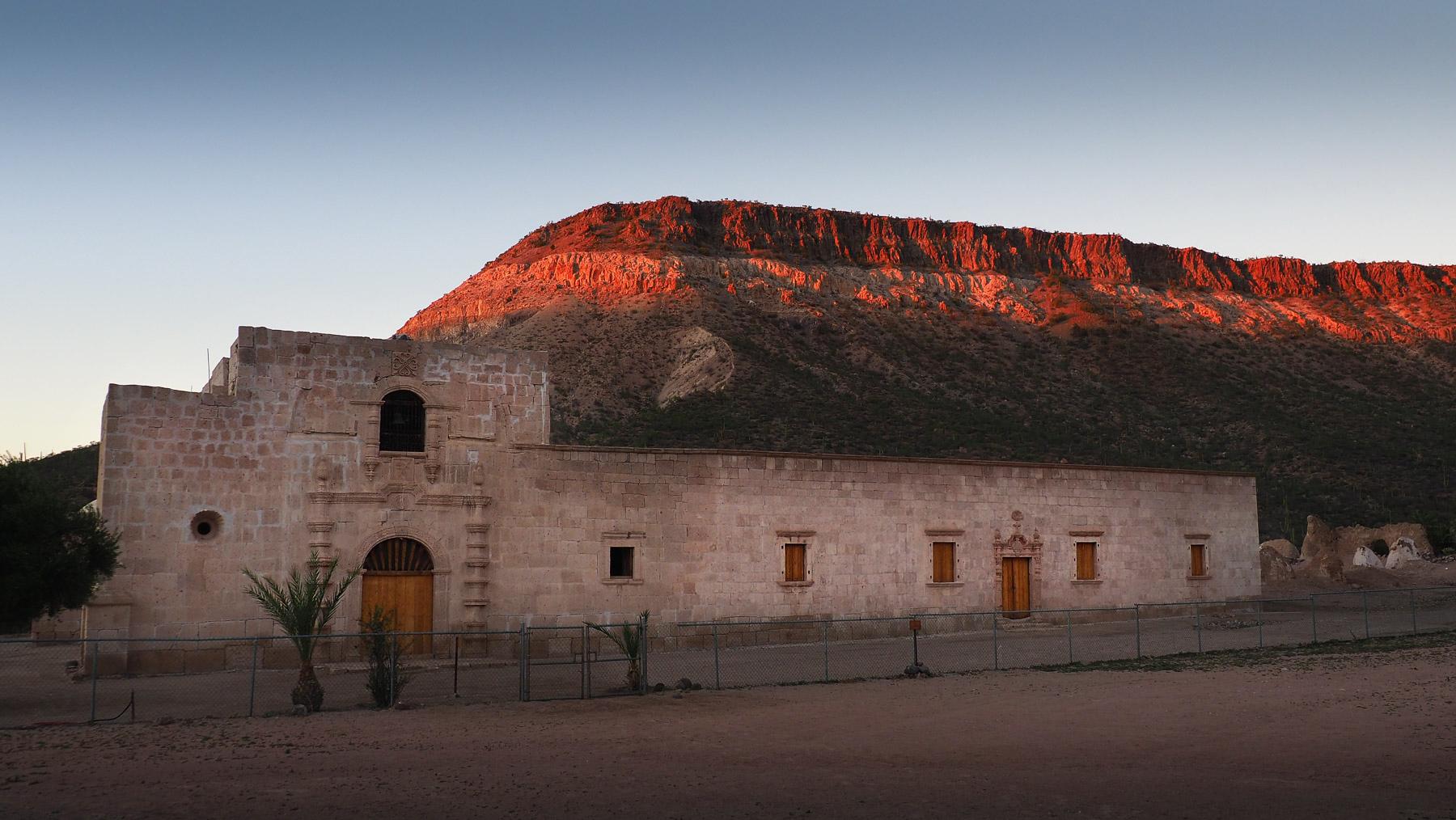 Übernachtung an der Mission de San Borja