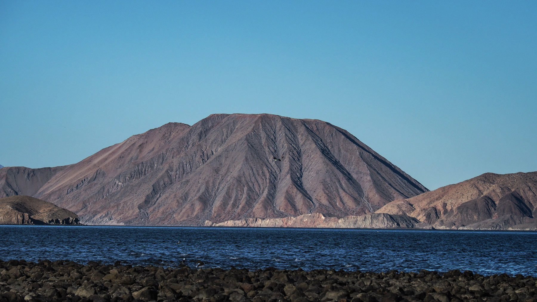 Einer der Vulkankegel in der Gegend