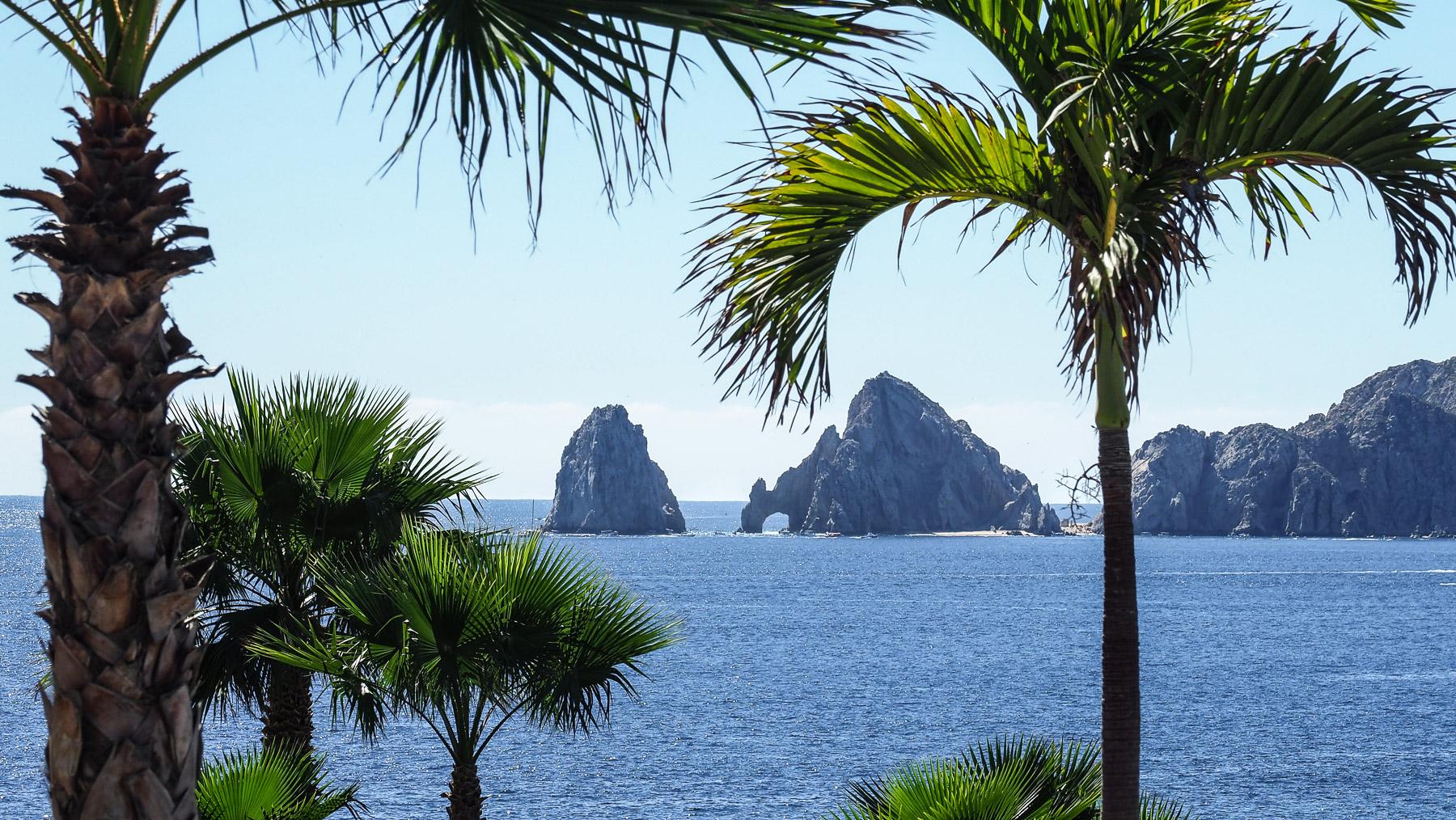"""Lands End"" in Cabo San Lucas, der südlichste Punkt der Baja"