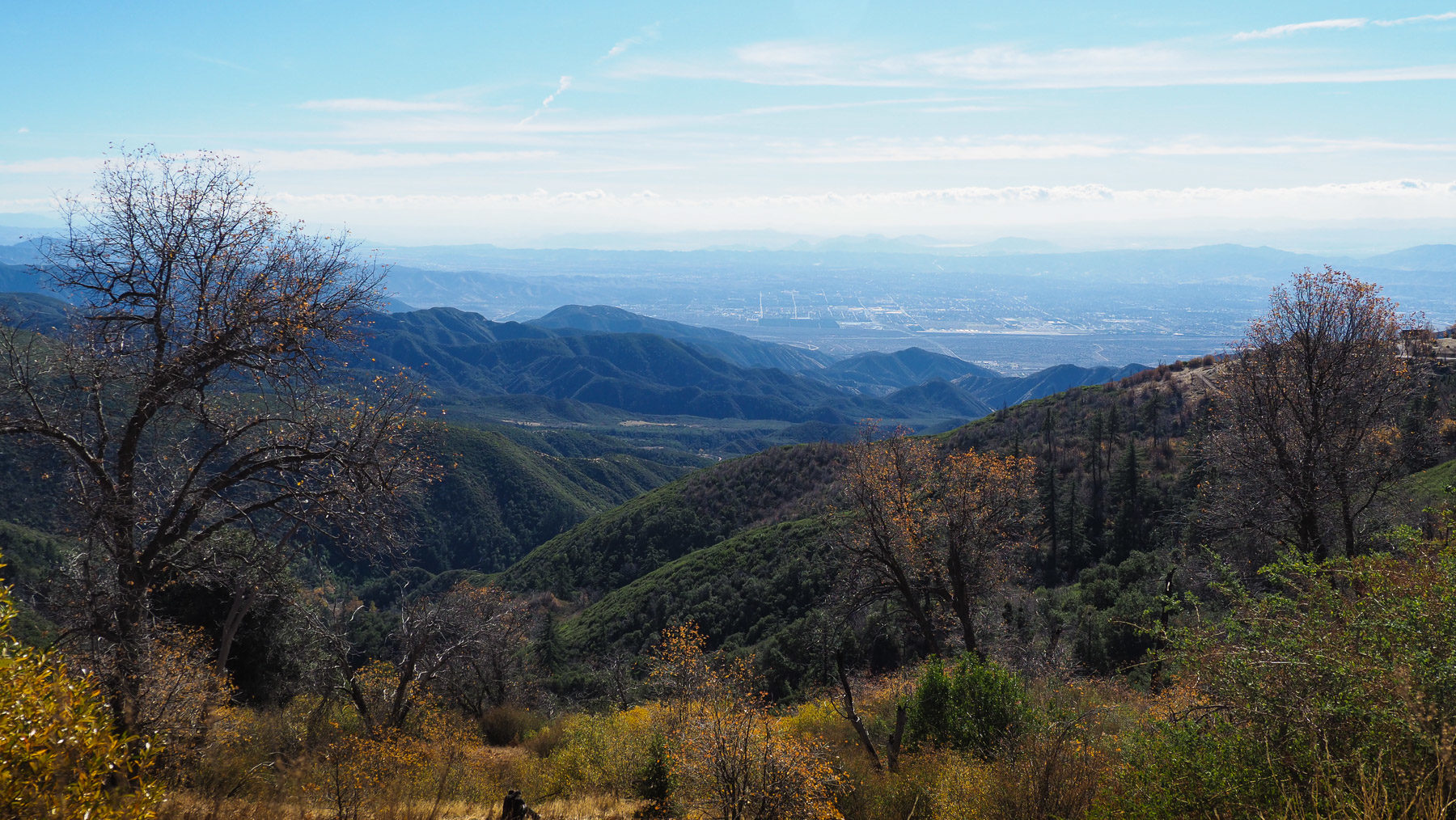 San Bernardino Mountains bei Los Angeles