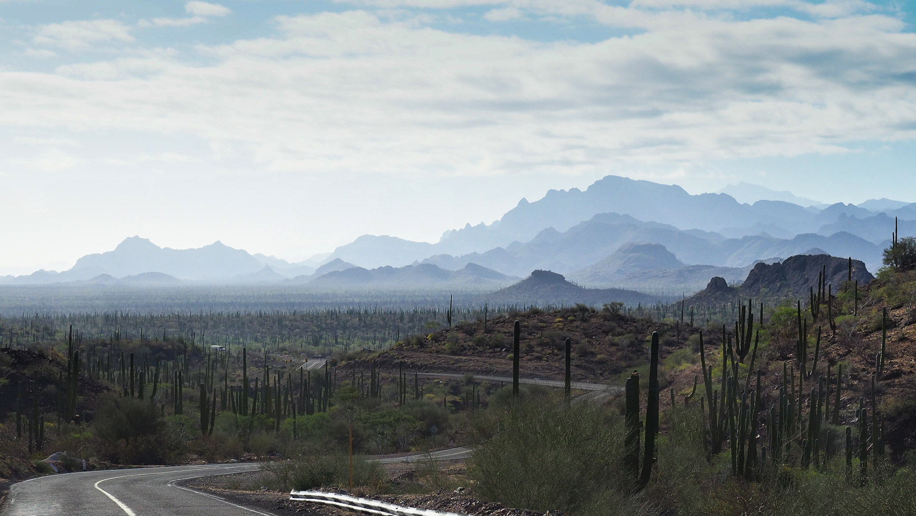 Baja Landschaft im Landesinnern
