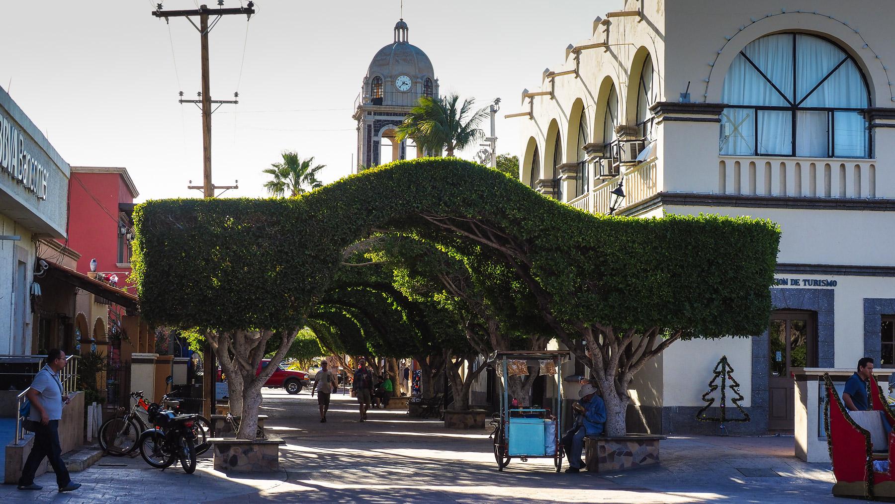 Loreto mit Fußgängerzone!
