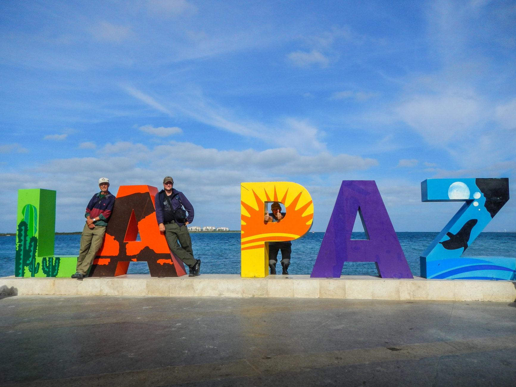 In La Paz, der Hauptstadt der Baja California, nach 1600 km Fahrt seit der Grenze