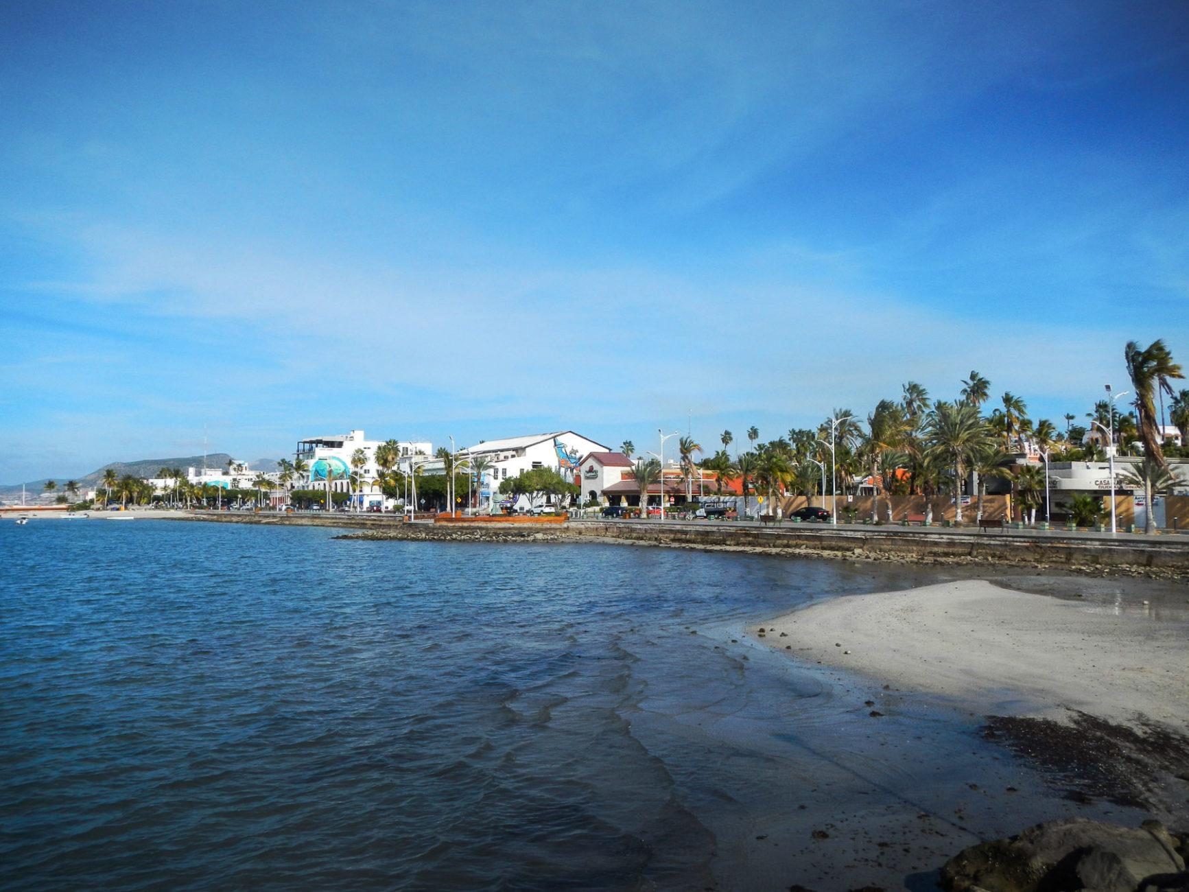 Sehr schöne Strandpromenade/Malecon in La Paz
