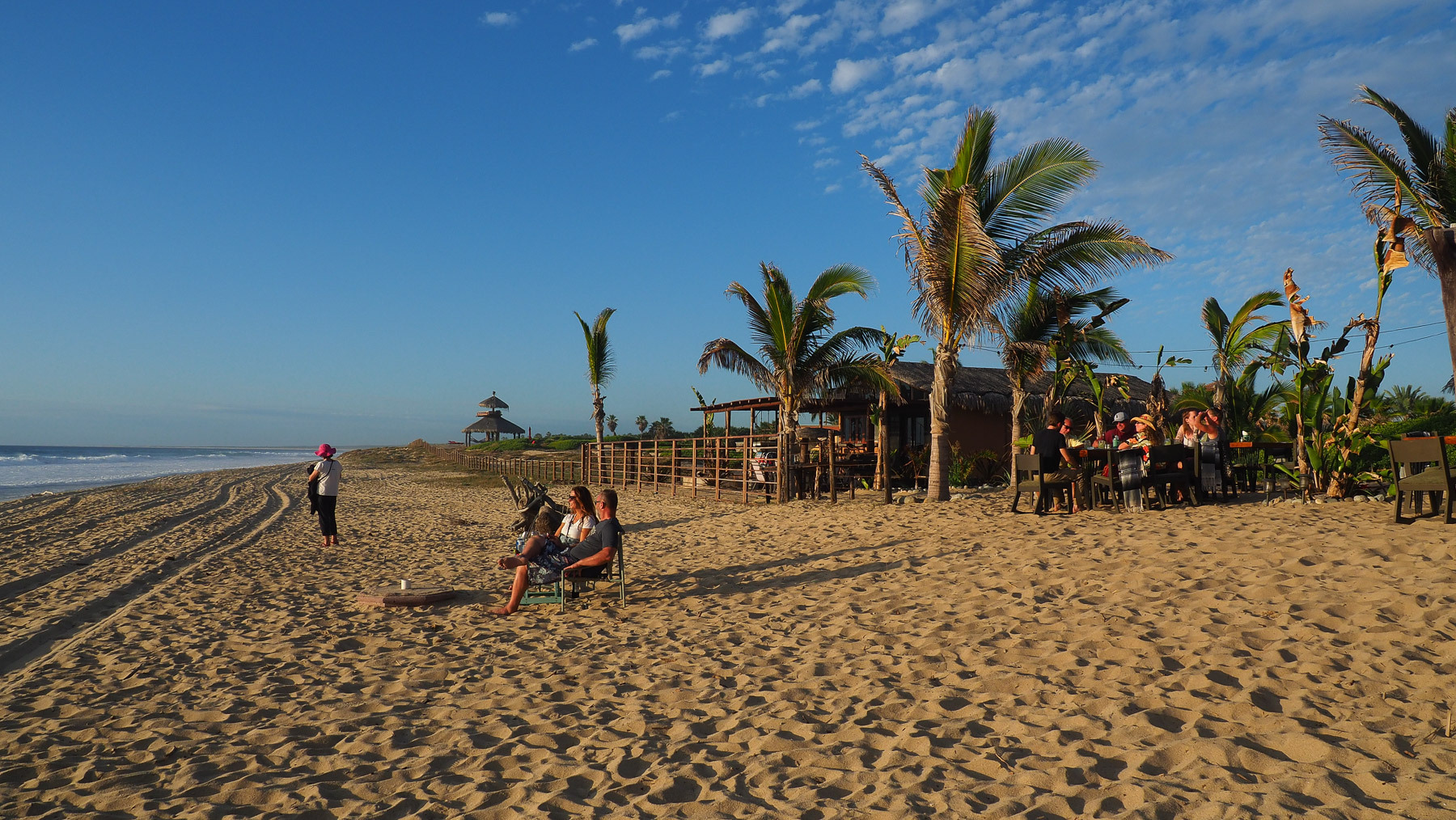 Green Room: Toplage am Strand