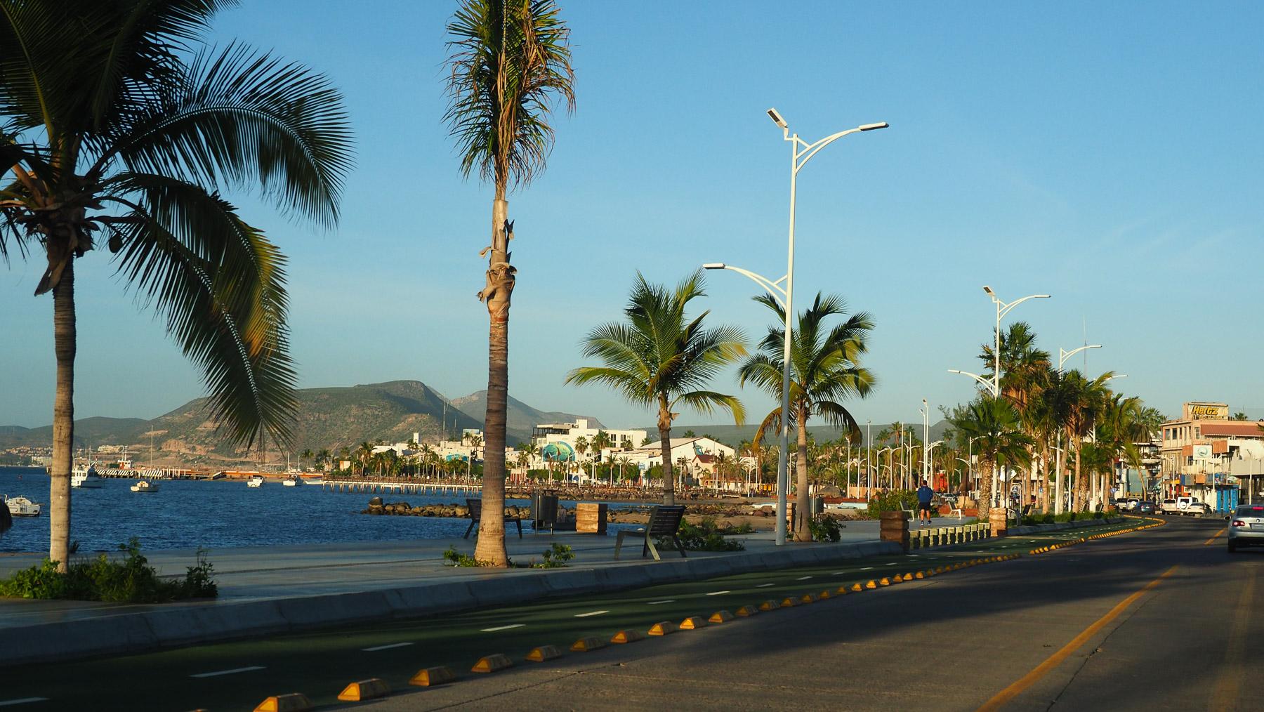 Strandpromenade von La Paz