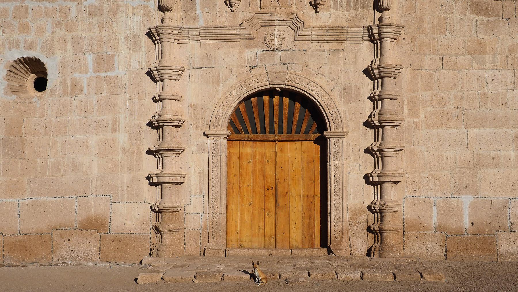 Der Eingang zur Mission wird von einem Zerberus bewacht
