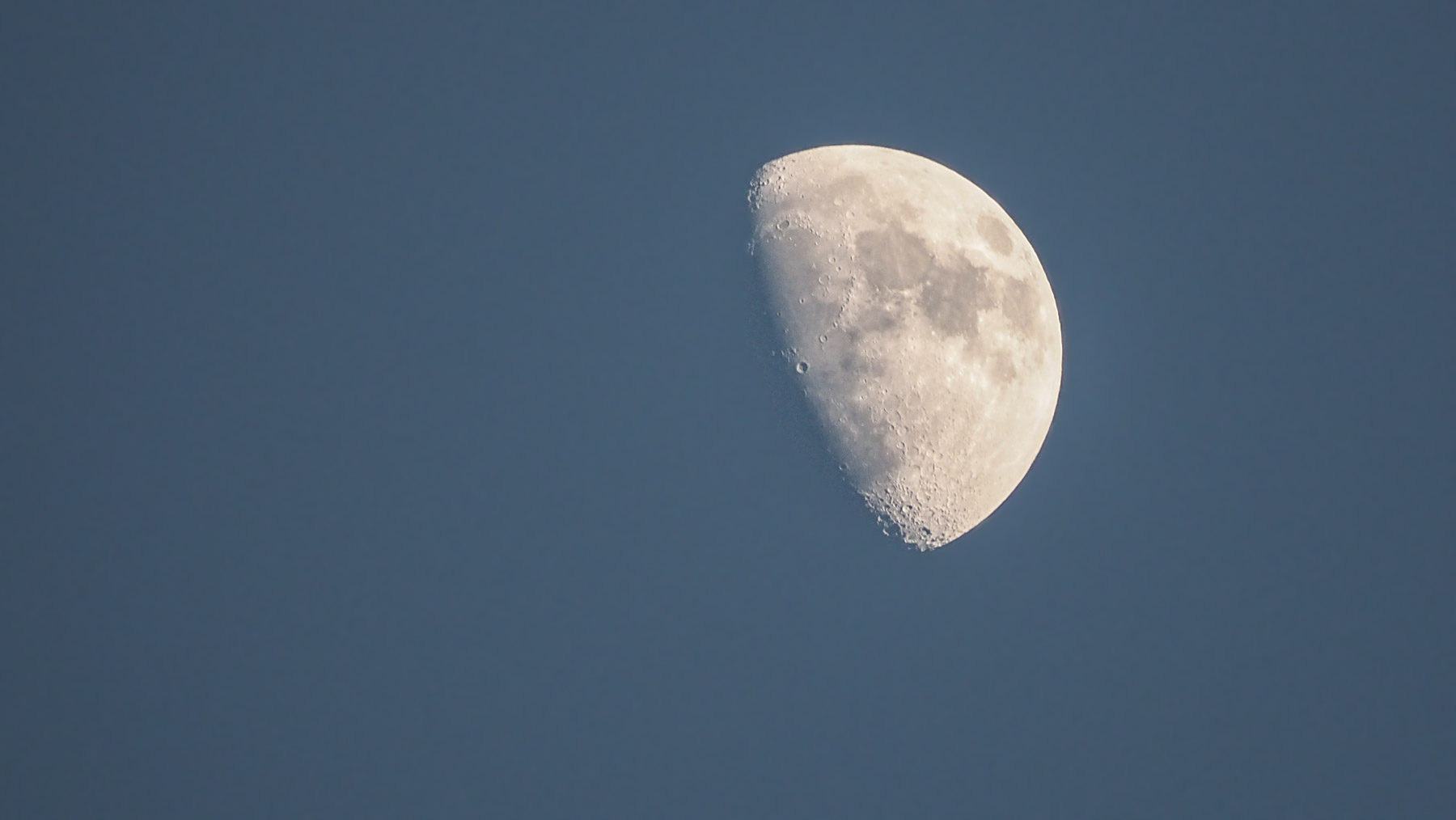 Klare Sicht auf den Mond!