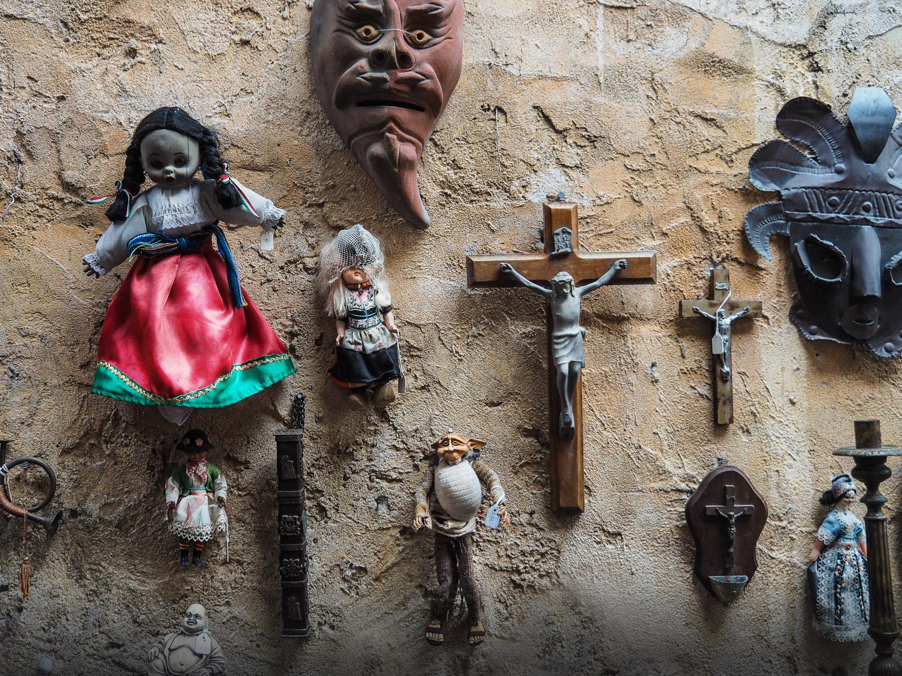 Skurrile Sammlung in Mazatlán