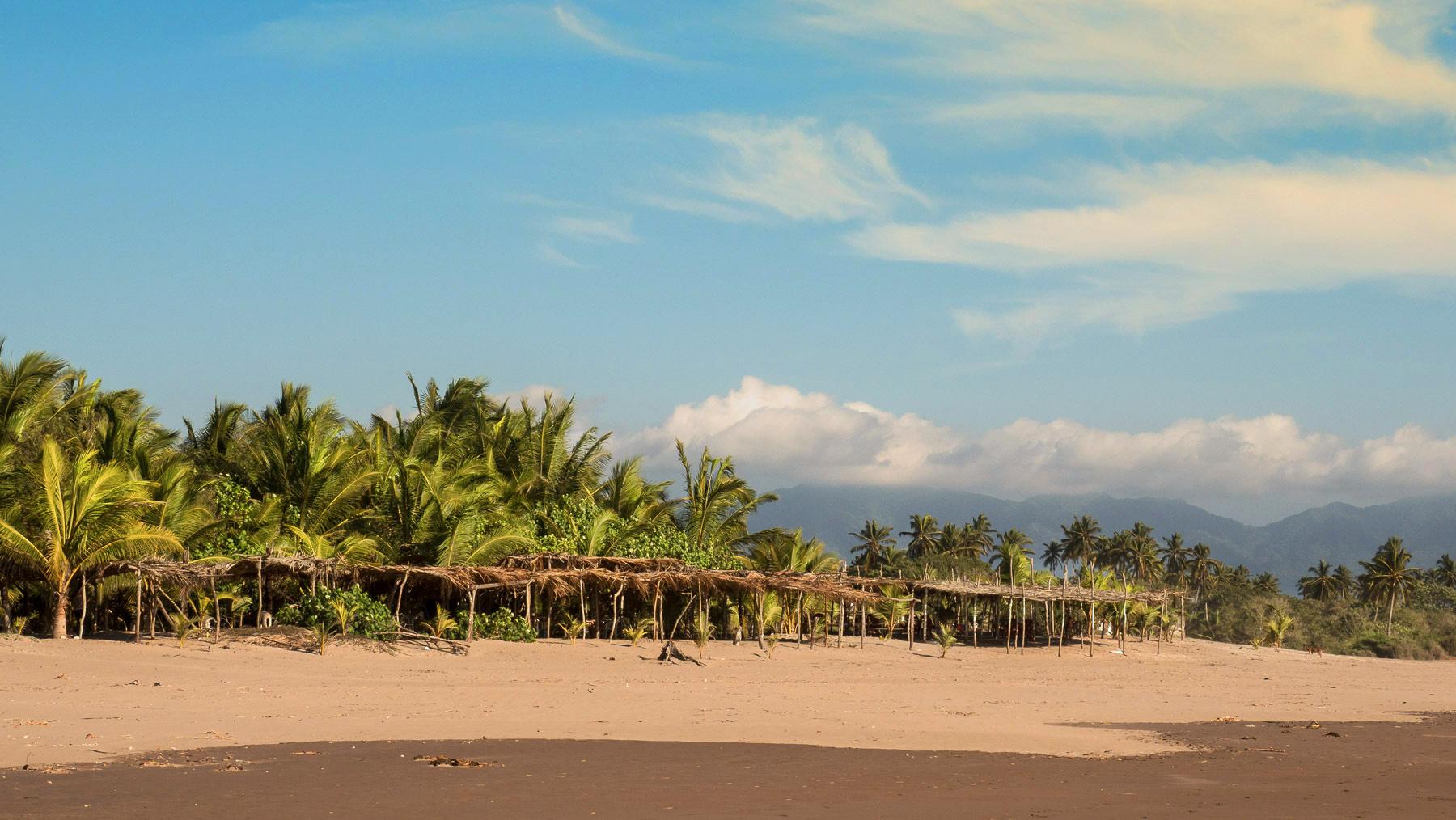 Pazifikstrände mit Kokospalmen zwischen Mazatlan und San Blas