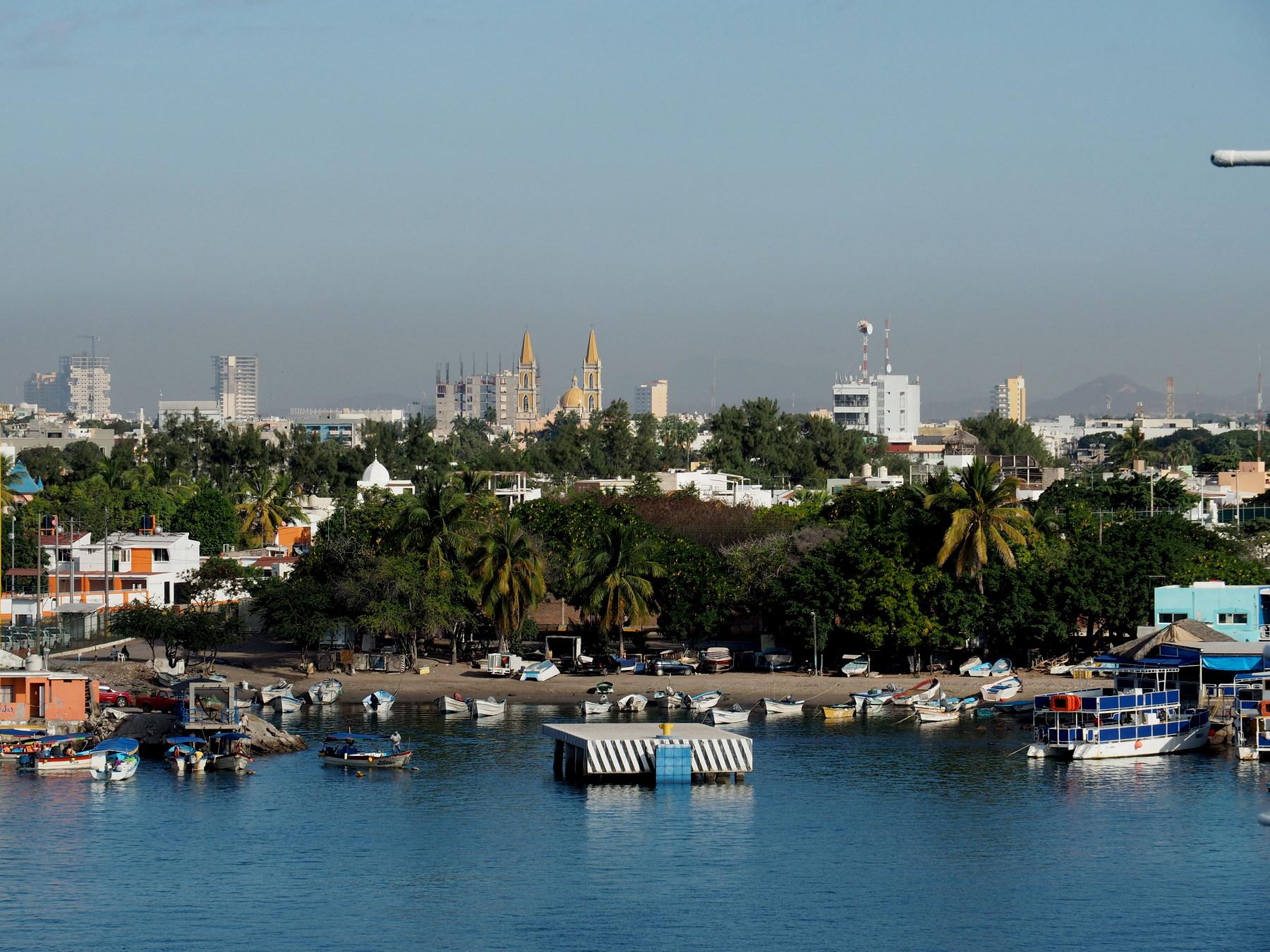 Ankunft in Mazatlan