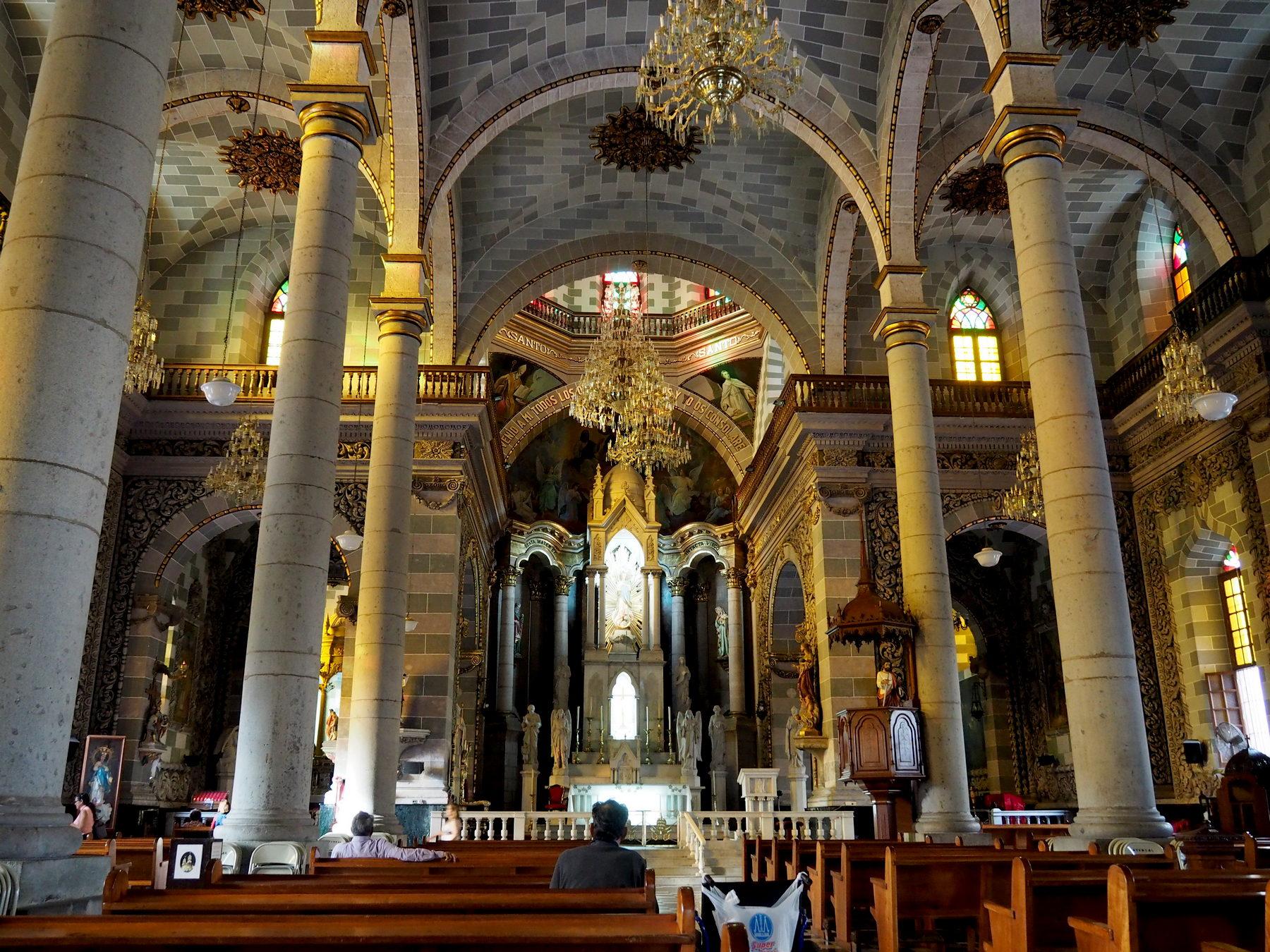 Die Kathedrale im Zentrum