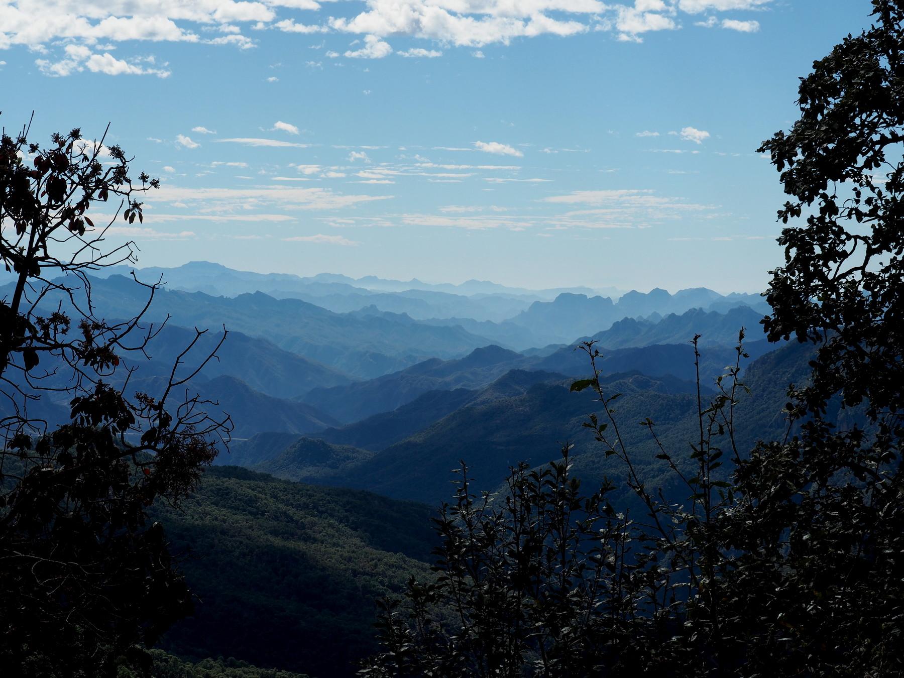Großartige Bergwelt