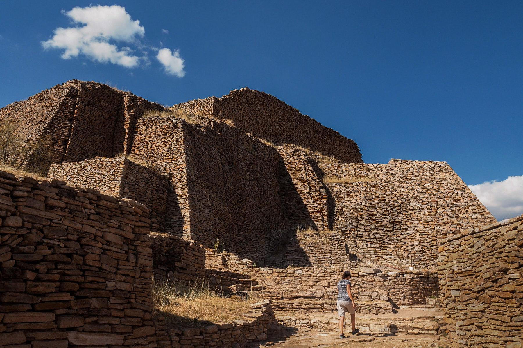 Überraschend große Festungs- und Tempelanlage aus dem 7ten Jahrhundert: La Quemada