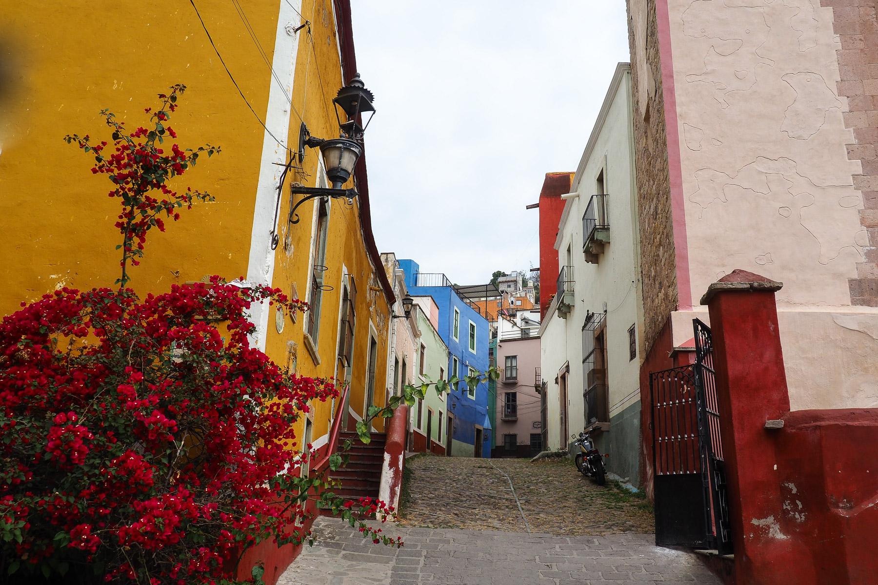 Häuser in allen Farben