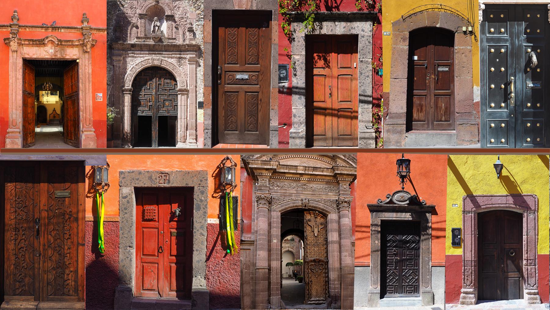 Und viele schöne alte Türen in San Miguel