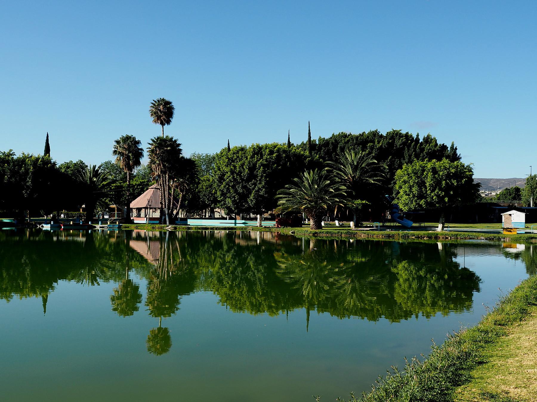 Hübscher Übernachtungsplatz im Aventura Park