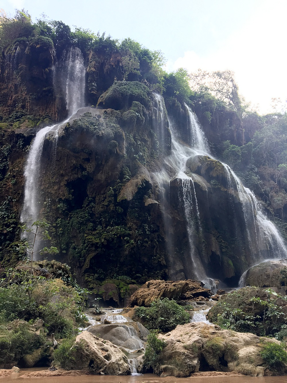 Erfrischende Cascades de Aguacero