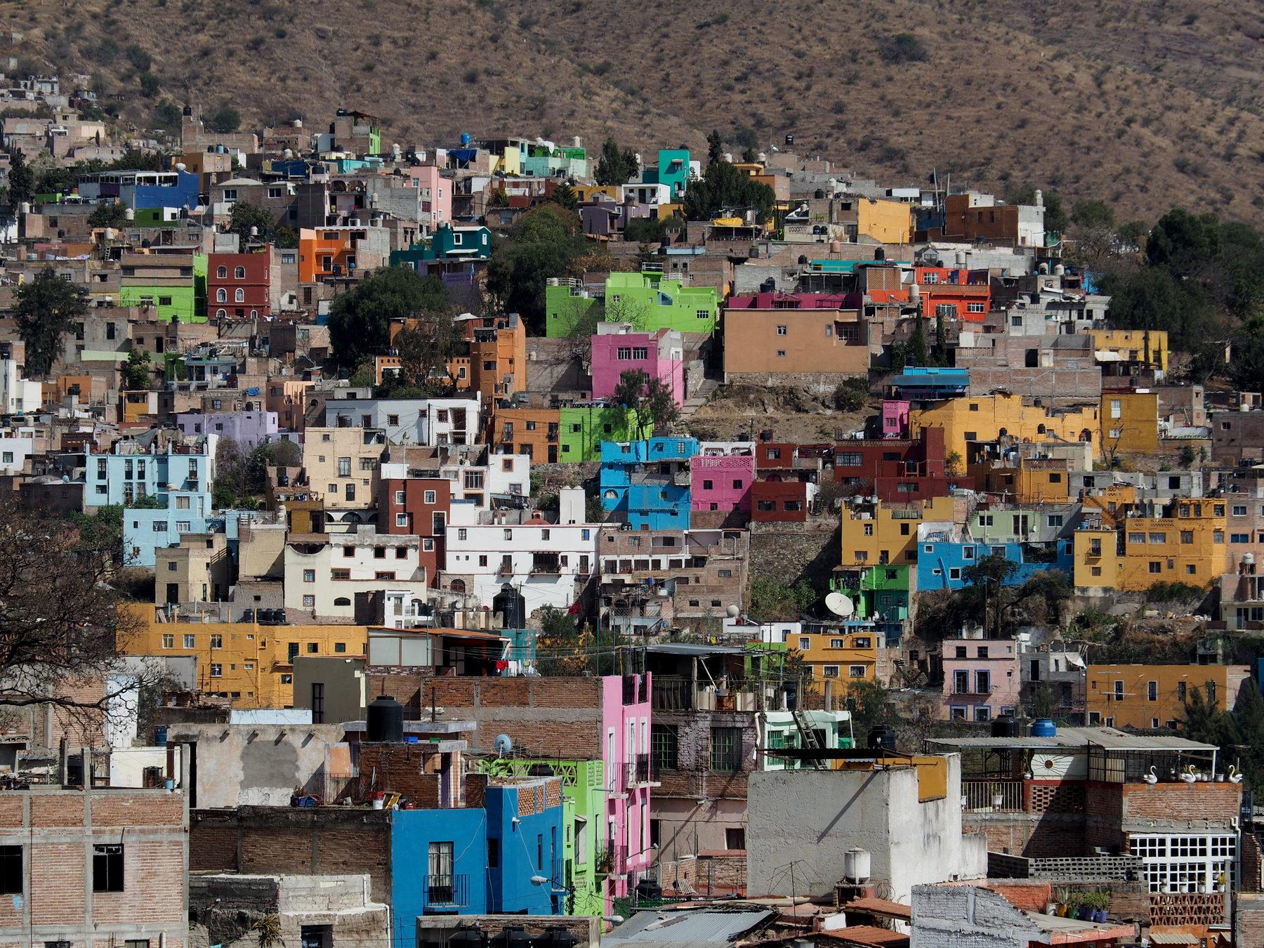 Guanajuato - buntes Städtchen