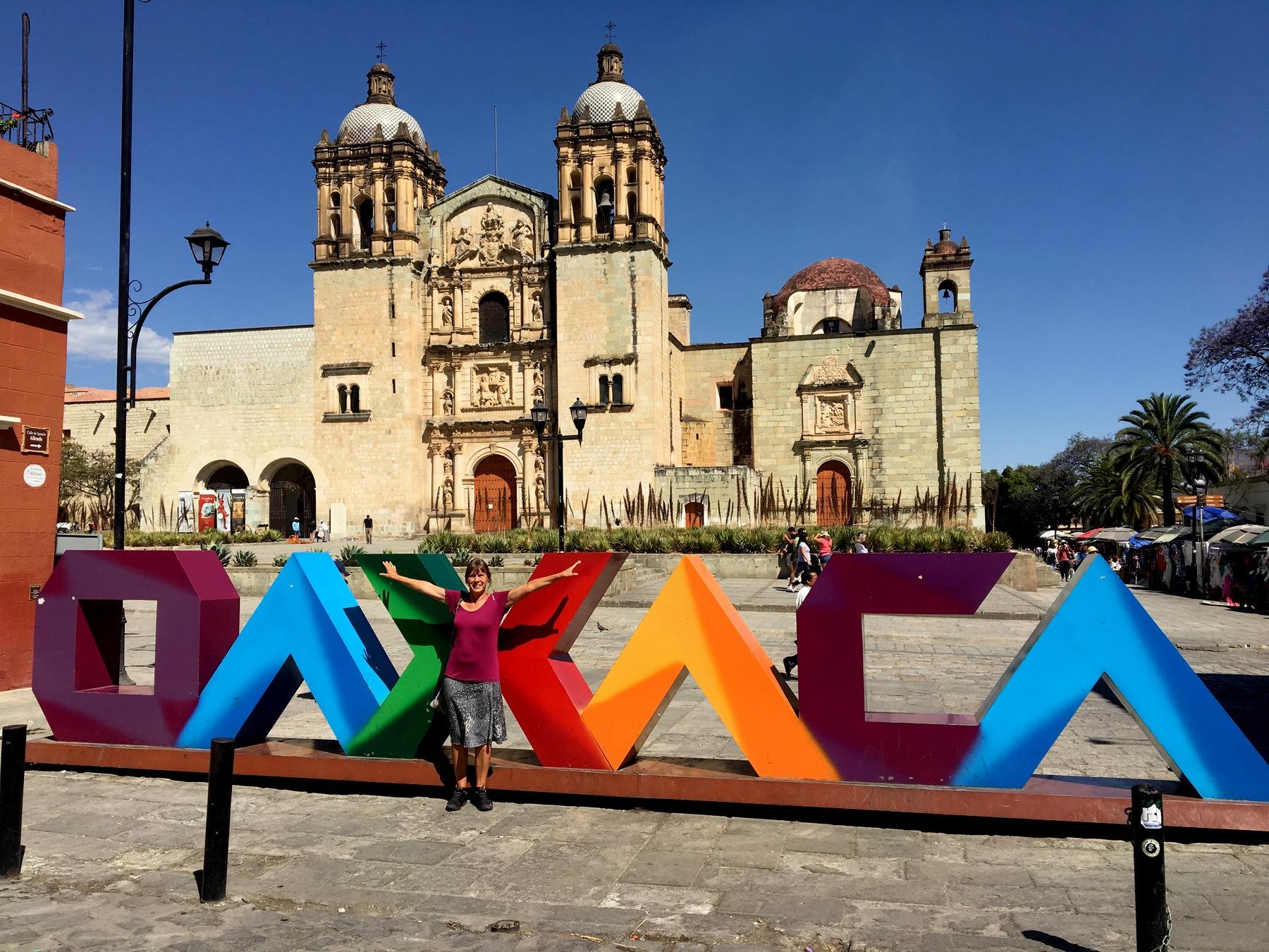 Oaxaca - Zentrum mit Santo Domingo Kirche